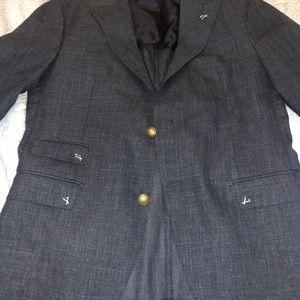 Eleventy Mens Italian Wool Silk Sport Coat Size 50